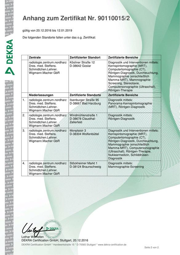 Qualitätsmanagement - radiologie.zentrum.nordharz